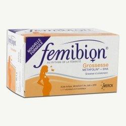 Femibion Grossesse Metafolin + DHA 30 comprimés + 30 capsules