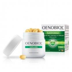 Oenobiol Capilaire Sublimateur Beauté des cheveux & Ongles 60 comprimés