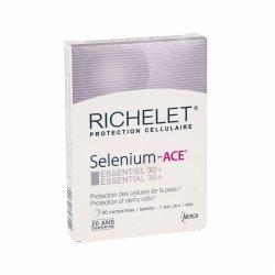 Richelet Selenium - ACE Essentiel 30 30 comprimés