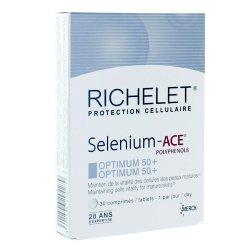 RICHELET Selenium - ACE Optimum 50+ 30 comprimés