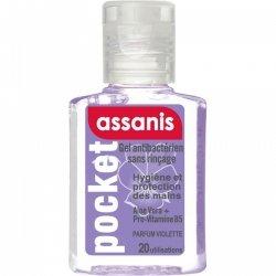 Assanis Pocket Gel Antibactérien Parfum Violette 20ml