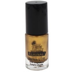 D'Âme Nature Ecrinal Vernis L'Or 5ml