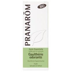 Pranarom Gaulthérie Odorante Feuille Bio Huile Essentielle 10ml