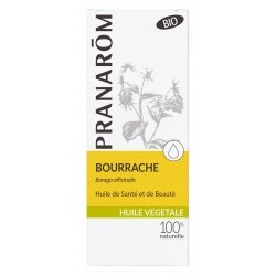Pranarom Bourrache Huile Végétale 50ml