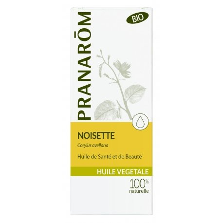 Pranarom Noisette huile végétale 50ml