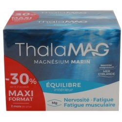 Iprad ThalaMag Magnésium Marin Equilibre 2x60 Gélules