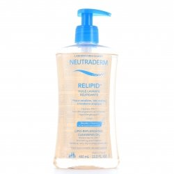 Neutraderm Relipid+ Huile Lavante Relipidante 400ml