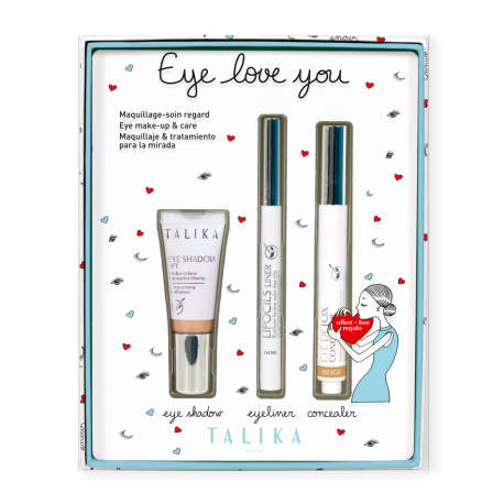 Talika Coffret Liner + Eye Shadow Nude + Eye Detox Beige