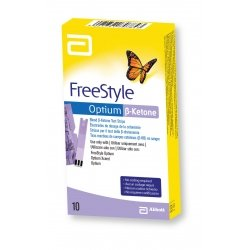 FreeStyle Optium B-Ketone Electrodes de Dosage de la Cétonémie 10