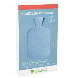 Laboratoire Marque Verte Bouillotte caoutchouc bleue 2l