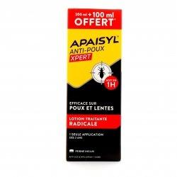 Apaisyl Xpert Lotion Anti-Poux 200ml + 100ml OFFERT