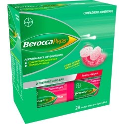 Berocca N Go Fruits Rouges 28 Comprimés Orodispersibles
