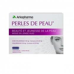 Arkopharma Perles de Peau Acide Hyaluronique + Coenzyme Q10 30 Capsules