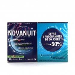 Novanuit Duo Pack Sommeil Triple Action 2x30 Gélules