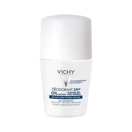 Vichy Déodorant P react sans aluminium bille 24h 50ml