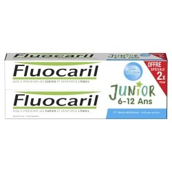 Fluocaril Duo Pack Junior 6-12 Ans Gel Bubble 75ml