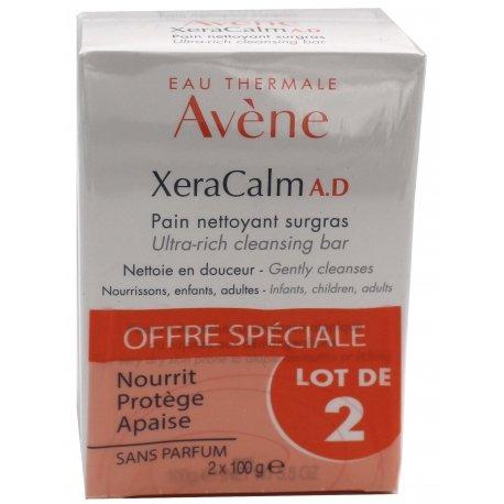 Avène Duo Xera Calm A.D Pain Nettoyant Surgras 2x100g