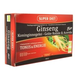 Super diet ginseng-gelee royale bio amp 20x15ml