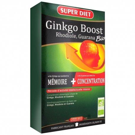 Super diet ginkgo boost bio amp 20