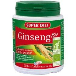 Superdiet Ginseng Panax Ca Meyer Bio 150 gélules