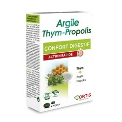 Ortis argile-thym-propolis comp 3x15