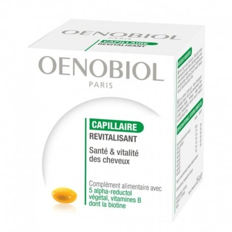 Oenobiol Capillaire revitalisant/ Anti-chute 60 caps