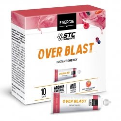 STC Nutrition Over Blast Instant Energy Fruits Rouges 10 gels