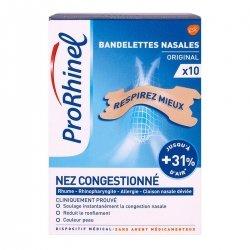 ProRhinel Bandelettes Nasales Original 10 pièces