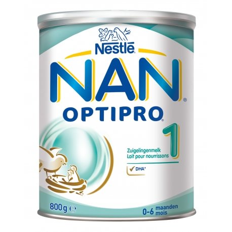 NAN Optipro 1 Lait pour Nourissons 800g