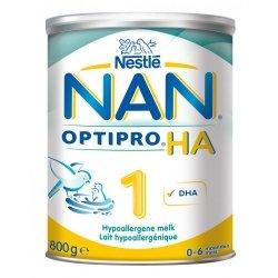 NAN Optipro HA 1 Lait Hypoallergénique pour Nourissons 800g