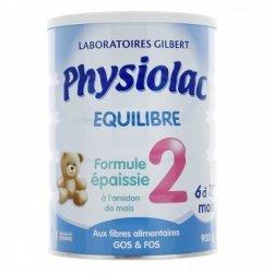 Physiolac Equilibre Formule Epaissie 2 900g
