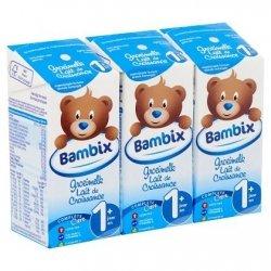 Bambix Lait de Croissance 1+ An 3x200ml