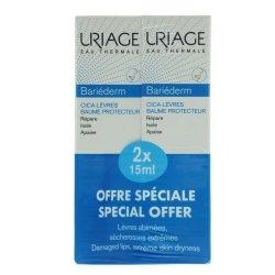 Uriage Duo Pack Bariéderm Cica-Lèvres 15ml