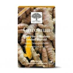 New Nordic Curcuma 30 comprimés