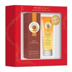 Roger & Gallet Coffret Bois d'Orange Eau Parfumée Bienfaisante 30ml + Cadeau Gel Douche Tonifiant 50ml