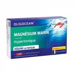 Oligocean Aquamag Magnésium Marin Hypertonique 20 ampoules de 15ml