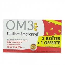 OM3 Equilibre Emotionnel 2+1 OFFERTE 3 x 60 capsules