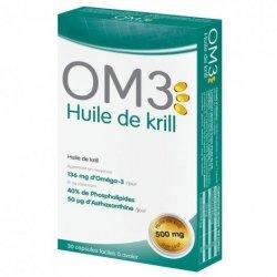 OM3 Huile de Krill 30 capsules