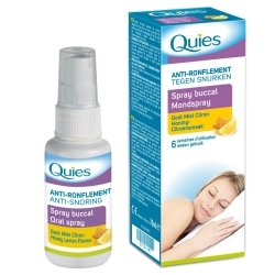 Quies a/ronflement miel-citron spray buccal 70ml