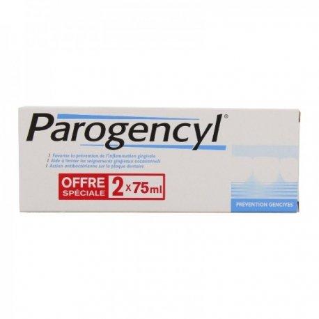 Parogencyl Prévention Gencives Offre Spéciale 2 x 75ml