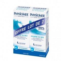 Physiomer Duo Hygiène du Nez Jet Dynamique 2x135ml