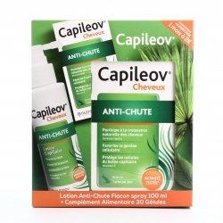 Nutreov Capileov Cheveux Anti-Chute Lotion Capillaire 100ml + Complément Alimentaire 30 gélules