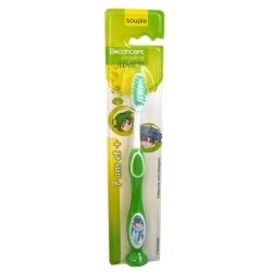 BConcept Hygiène Junior Brosse à Dents Souple 7ans et + (couleurs variables)