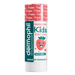 Dermophil Protection Kids Goût Fraise 4g