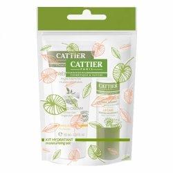 Cattier Kit Hiver Hydratant - Crème Mains 30ml + Soin Lèvres 4g