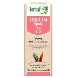 Herbalgem Sinugem Spray Bio Voies Respiratoires 10ml