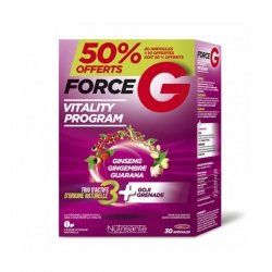 Nutrisanté Force G Vitality Program 30 ampoules
