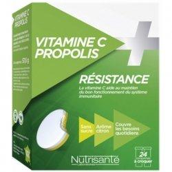 Nutrisanté Vitamine C + Propolis Résistance 24 comprimés
