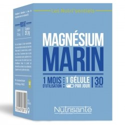 Nutrisanté Les Nutri'sentiels Magnésium Marin 30 gélules