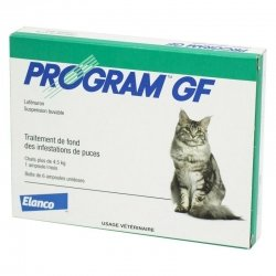Elanco Program GF Traitement Anti-Puces Puces 6 ampoules